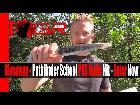 Giveaway - Pathfinder School PKS Knife Kit - Enter Now