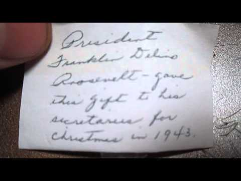 1943 Christmas gift from the President of the United States