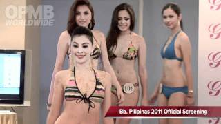 Bb. Pilipinas 2011 Swimsuit (Official Screening)