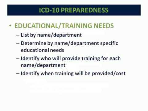 ICD 10 Preparedness for the Medical Office Webinar