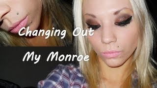 Changing Out My Monroe Piercing. (1st Time!)