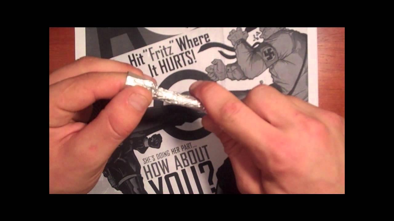 Tin Foil Pipe