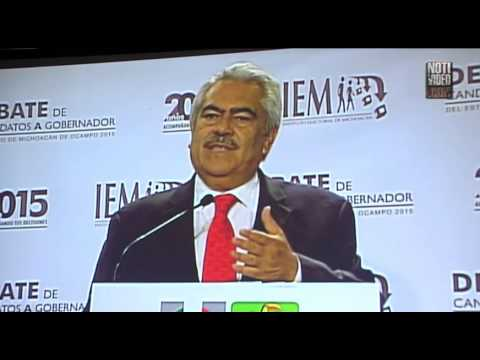 Debate sin sobresaltos entre candidatos al gobierno de Michoacán