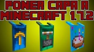 Como Poner Capa A Skin De Minecraft 1.7.2