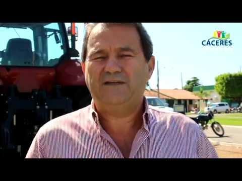 Prefeito participa de I Encontro Técnico da Soja e do Milho em Cáceres