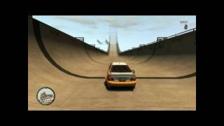 GTA 4 The Biggest Ramp In Gta 4!!!