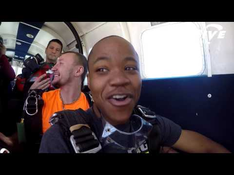 Sebastian Simpson's Tandem skydive!