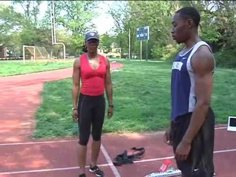 Sprint Mechanics with Shelia Burrell