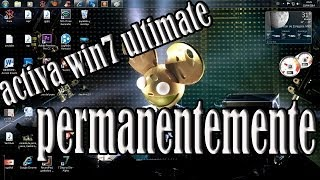 Como Activar 2014 (crakear) WINDOWS 7 ULTIMATE [[FULL