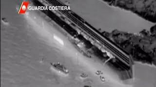 Costa Concordia Incidente : Video Raggi Infrarossi