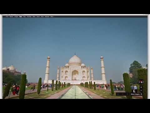 Explore the Taj Mahal with Google Maps