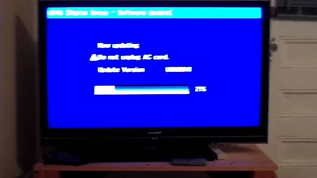 what does upgrading tv firmware do