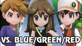 Pokémon Let's Go Pikachu & Eevee : Vs. Trio Strongest Trainers (1080p60)