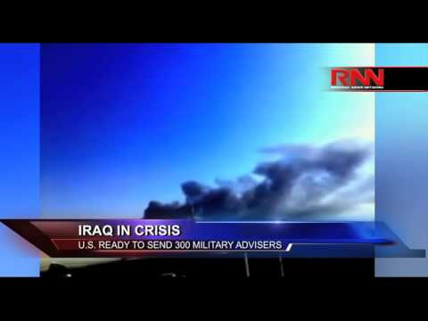 Iraq In Crisis: U.S. Ready To Send 300 Military Advisers (Part 1 of 2)