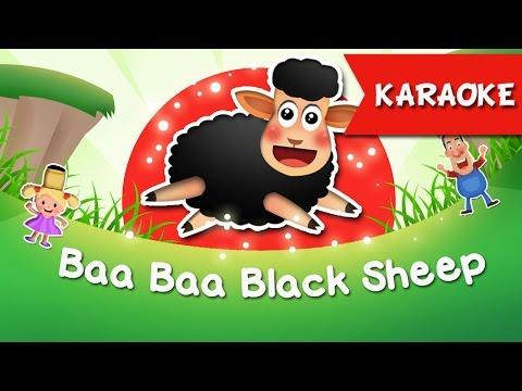 Baa Baa Black Sheep Karaoke | Nhạc Thiếu Nhi Vui Nhộn | Học Tiếng Anh Qua Bài Hát ♫ ♫ ♫