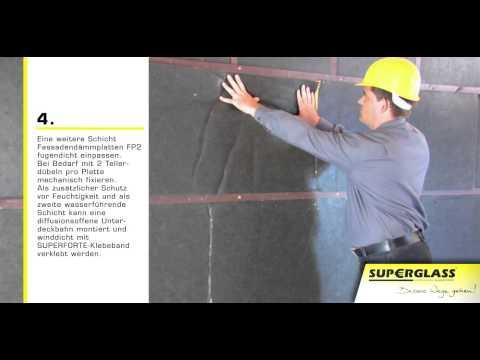 Superglass -  Hinterluftete Holzfassade mit senkrechter Boden-Deckel-Verschalung
