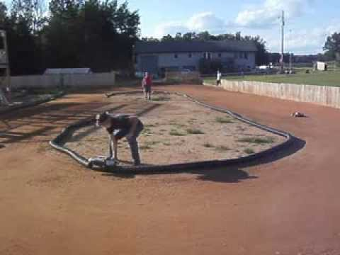 Sand Pit Rc Late model and Open class on the oval