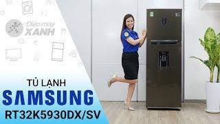 Tủ lạnh Samsung Inverter RT32K5930DX/SV - Cuộc sống thoải mái hơn từ Samsung   Điện máy XANH
