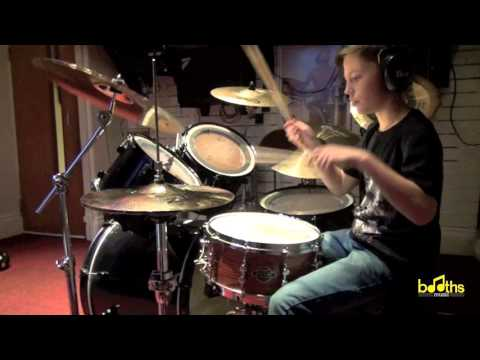 Pierce the Veil King for a day Drum Cover By Joel Wolstencroft (11 Years Old)