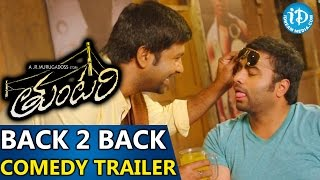 Tuntari Movie - Back To Back Comedy Trailers- Nara Rohith, Latha Hegde