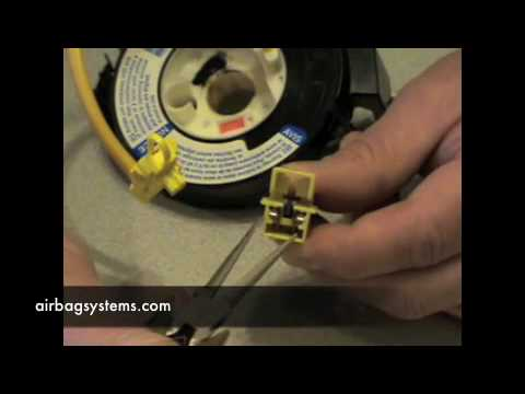 01 rav4 fuse box replacement airbag systems how to test a clock spring youtube  airbag systems how to test a clock spring youtube