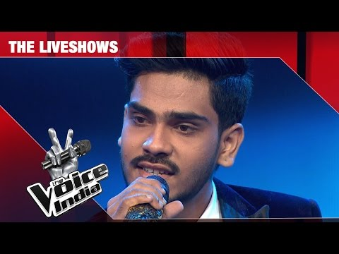 Farhan Sabir - Performance - The Liveshows Episode 27 - March 11, 2017 - The Voice India Season2