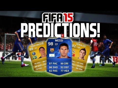 FIFA 15 - LIONEL MESSI (Card Prediction)