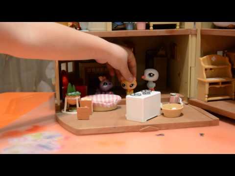 Как сделать домик из картона для петшопов