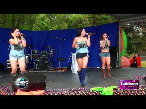 Suab Hmong Entertainment:  The LOS WING - Interviewed with LIVE show at Hmong Freedom Celebration