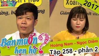 Cô gái thẳng thắn từ chối hẹn hò chàng trai trước khi bấm nút | Hoàng Nam - Ng�c Diễm | BMHH 258
