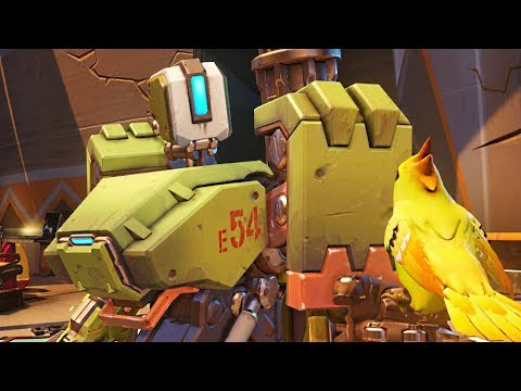 Overwatch - 'MEADOW' Bastion Gameplay (COMMON SKIN)