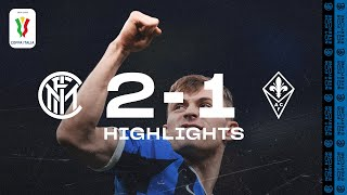 INTER 2-1 FIORENTINA | COPPA ITALIA HIGHLIGHTS | Candreva and Barella blow away Fiorentina ✌🏻⚫🔵??