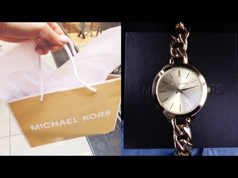 Weekly Vlog 15 - MICHAEL KORS SHOPPING!! (April 7 - 13/14)