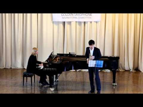 Golden Saxophone 2015 – Wang haoyuan – A.Waignen, Rhapsody