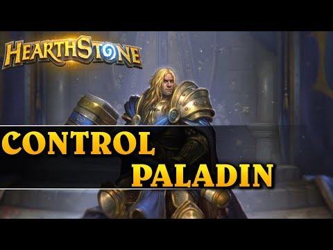 MULTI JEST SPOKO! - CONTROL PALADIN - Hearthstone Decks std