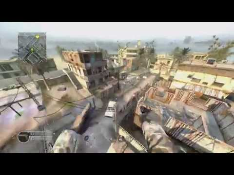 CoD4 Old School Free Running Montage 7 (Xbox 360)