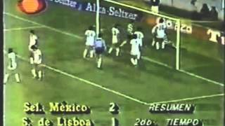 Sel. Mexico - 2 Sporting - 1 de 1986/1987 Particular
