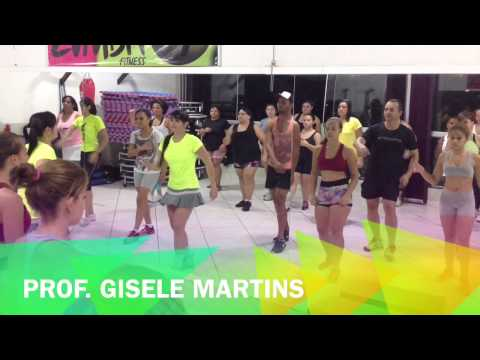 Zumba - I Like How It Feels - com a profª Gisele Martins