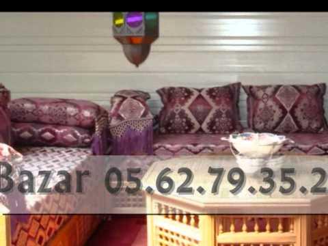 Salon marocain et orientale toulouse youtube for Nina bazar salon marocain