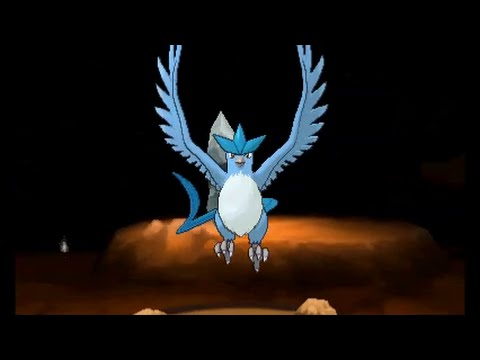 Pokemon X/Y - Catching Articuno (battle and guide)