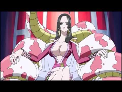One Piece Luffy Fucks Boa Hancock