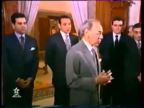 فيديو نادر يبين كيف كان يتعامل الحسن الثاني مع أعضاء حكومته