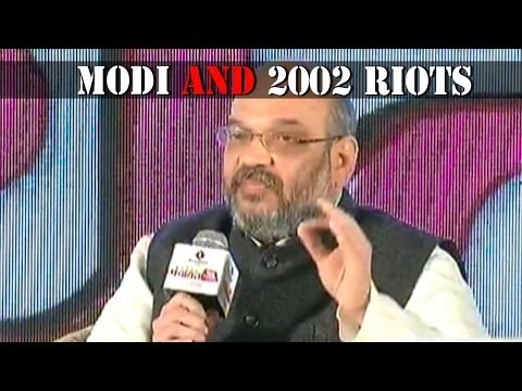 Jairam Ramesh and Amit Shah talk about 2002 riots - Panchayat Aaj Tak