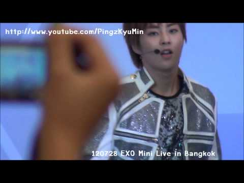 [FANCAM] 120728 EXO Mini Live in Bangkok - MAMA [ D.O. & Xiumin Focus ]