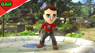 Super Smash Bros 4 Mii Fighter Announcement Info Trailer