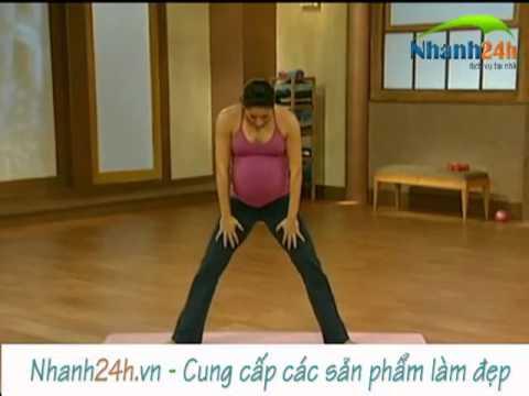 Bài tập thể dục cho bà bầu, tập thể dục cho người mang thai 1 - Nhanh24h.vn