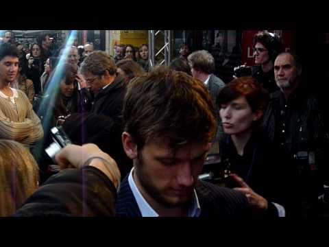 Alex Pettyfer & Teresa Palmer in Paris - I am Number Four Premiere