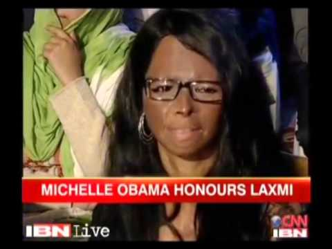 Michelle Obama honours India's acid attack victim Laxmi