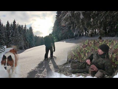 Die schönste Winter-Wanderung meines Lebens. Mit Schneeschuhen im Schwarzwald. Bushcraft & Natur