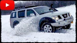 Гонка [Нива vs Nissan Pathfinder vs Patrol] off-road  часть 2/3. Полный Привод 4х4 - Офф Роуд Видео.